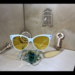 Yellow Cat Eye Sunglasses